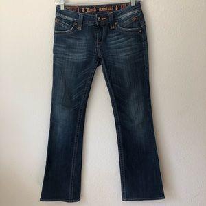 Rock Revival Boot Cut Jeans 30